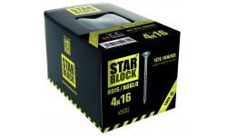 Vis bois et agglomérés - 4x16 - TX - boite de 500 STARBLOCK